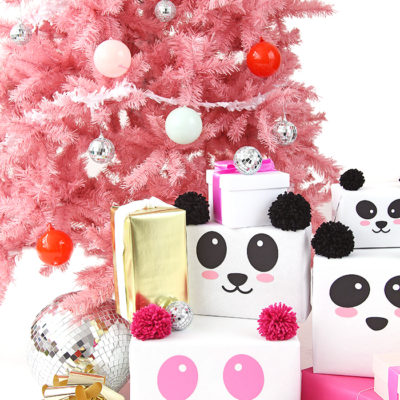 Panda Gift Wrap DIY - How to Wrap Your Gifts