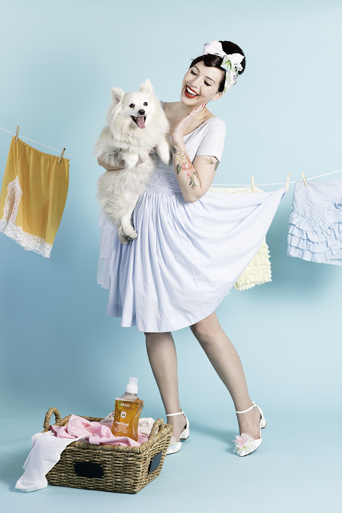 keiko lynn method home pinup shoot 5