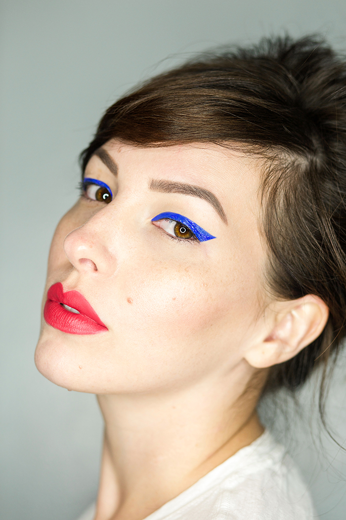 20 different eyeliner styles with urban decay razor sharp