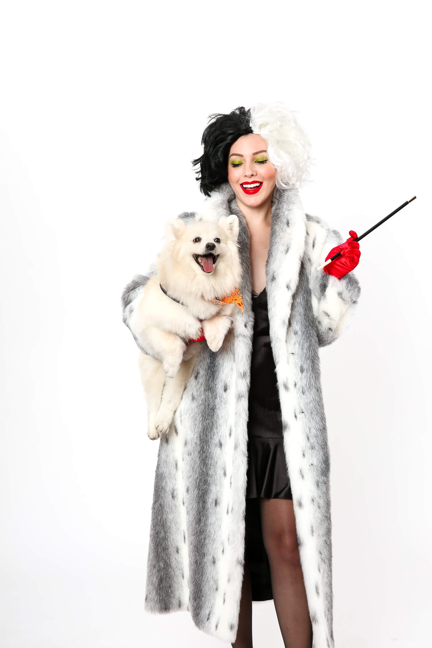 Halloween Costume Idea: Cruella de Vil costume from 101 ...