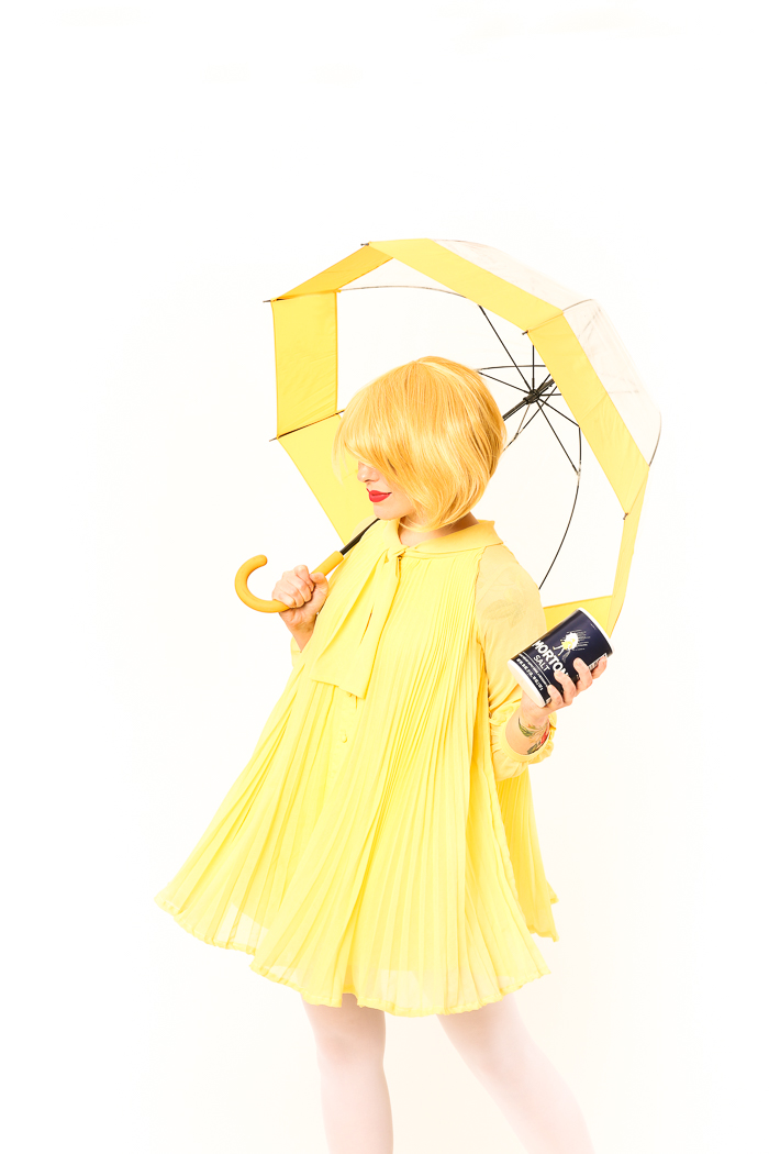 morton salt girl costume for halloween