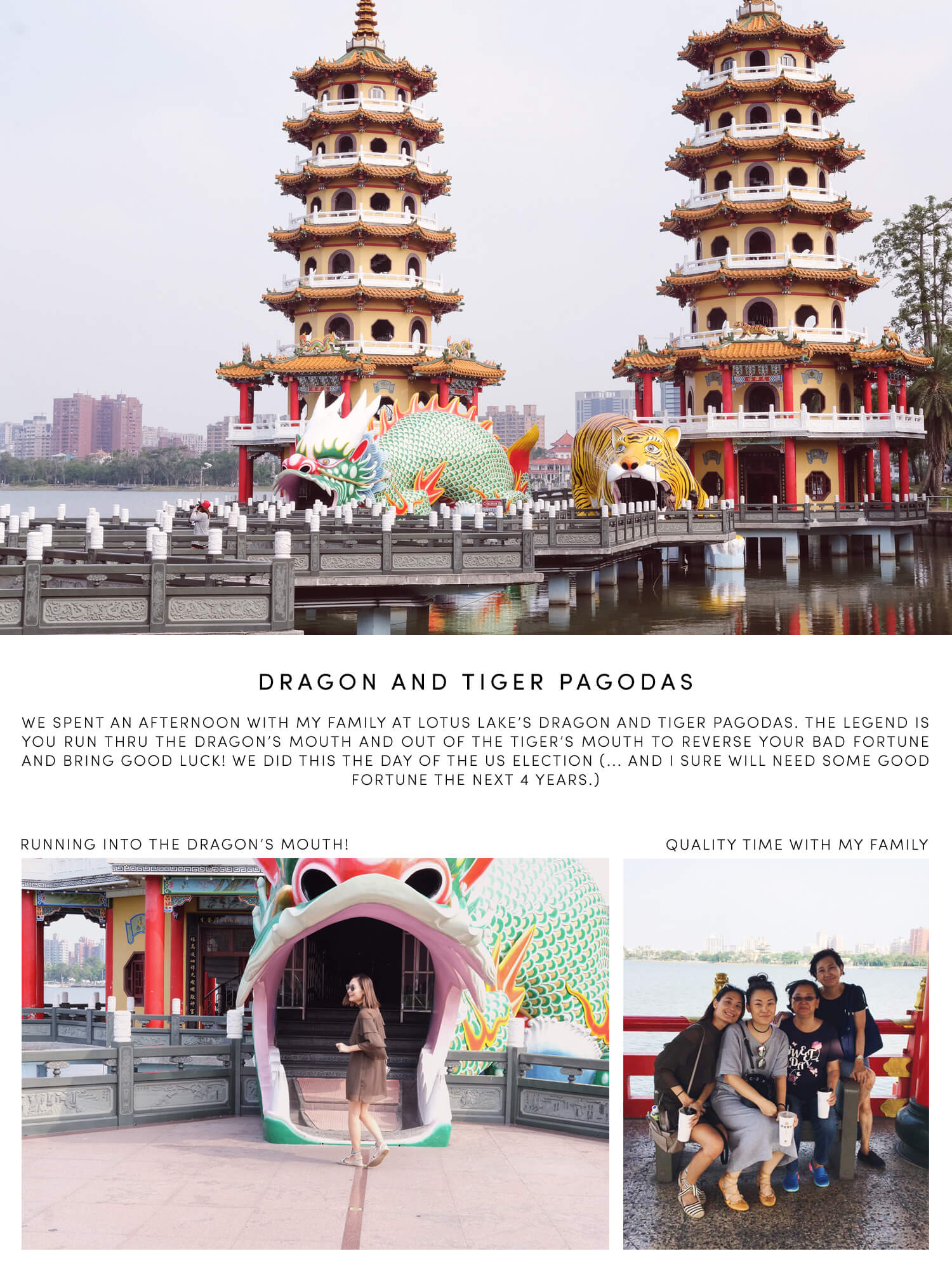 Guide to Kaohsiung Taiwan - Things To Do in Kaohsiung - Dragon and Tiger Pagodas - Lotus Lake
