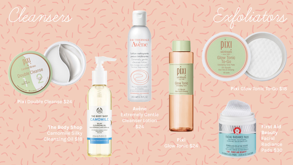 Affordable Facial Cleansers, Affordable Exfoliators, Affordable Skin Care Products That Actually Work