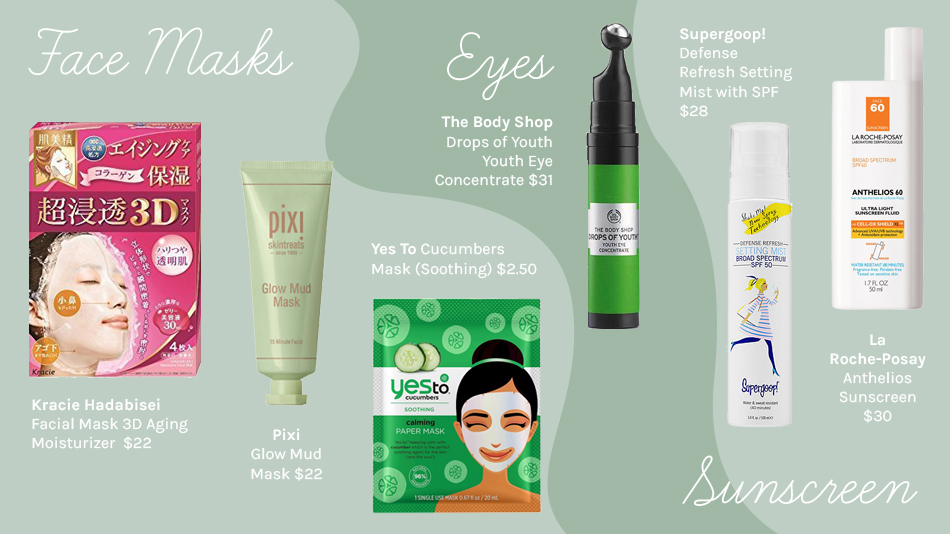 Affordable Face Masks, Affordable Facial Sunscreen, Affordable Skin Care Products That Actually Work