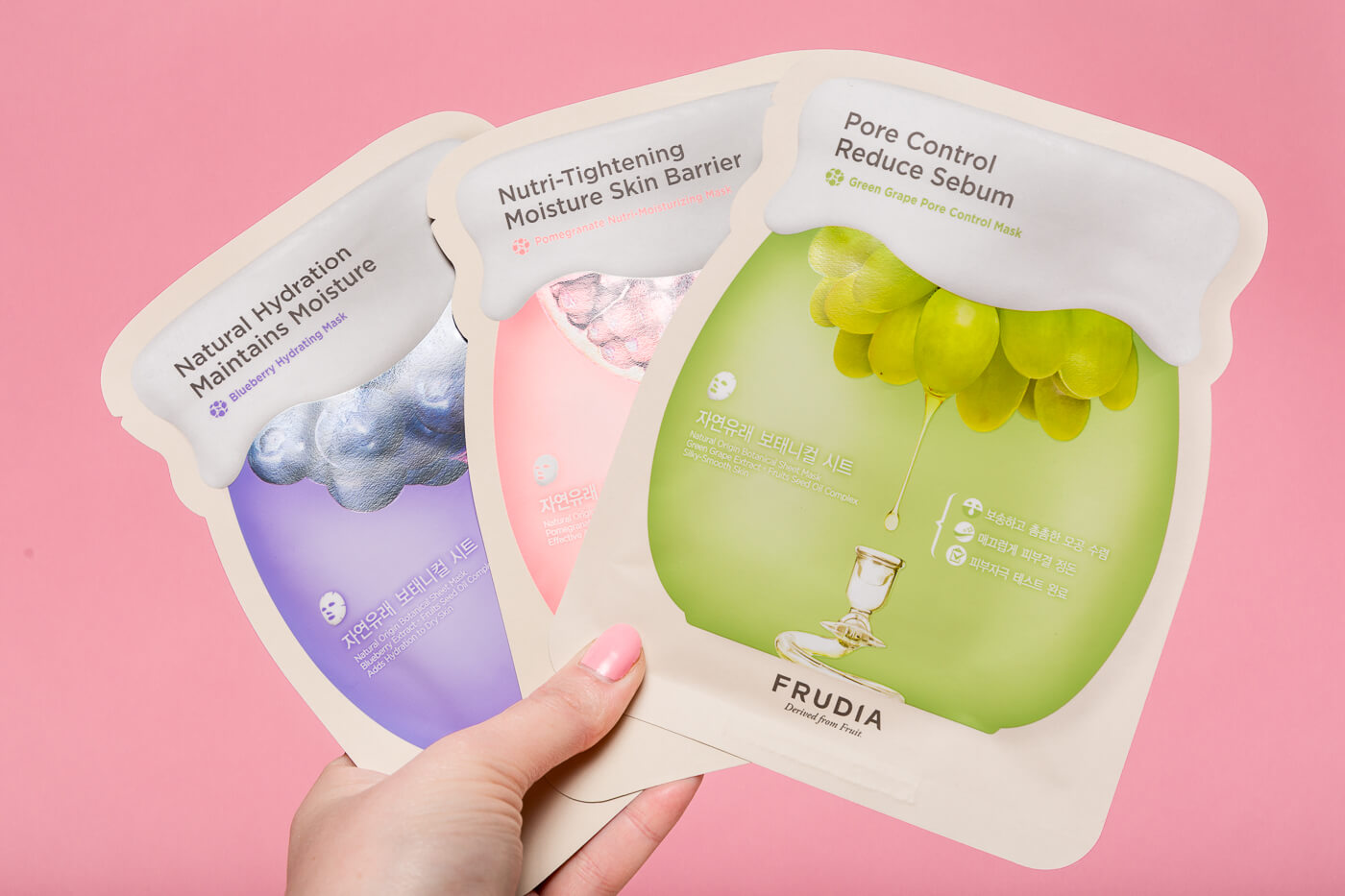 korean skin care frudia sheet masks