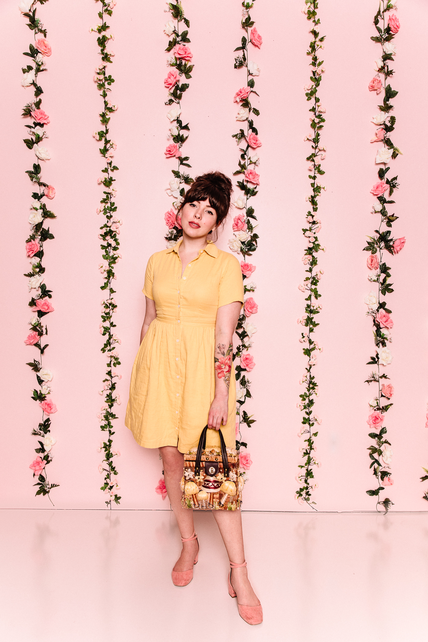 margu dress buttercup yellow
