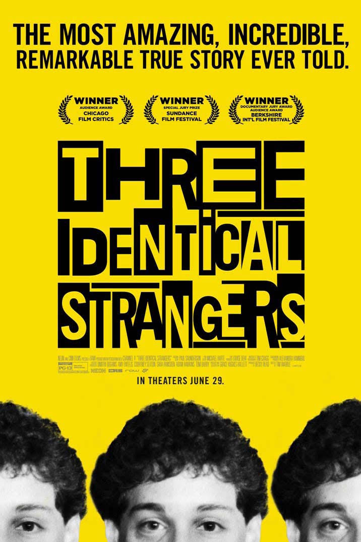 best documentaries 2018 three identical strangers triplets separated at birth