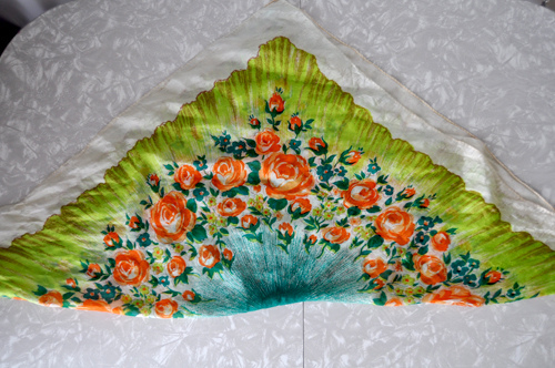 large, square scarf