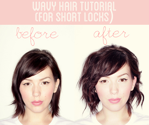 Wavy Layered Hair | Short Hairstyles in 10 Minutes or Less