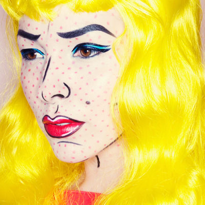Makeup Monday: Pop Art Makeup Tutorial