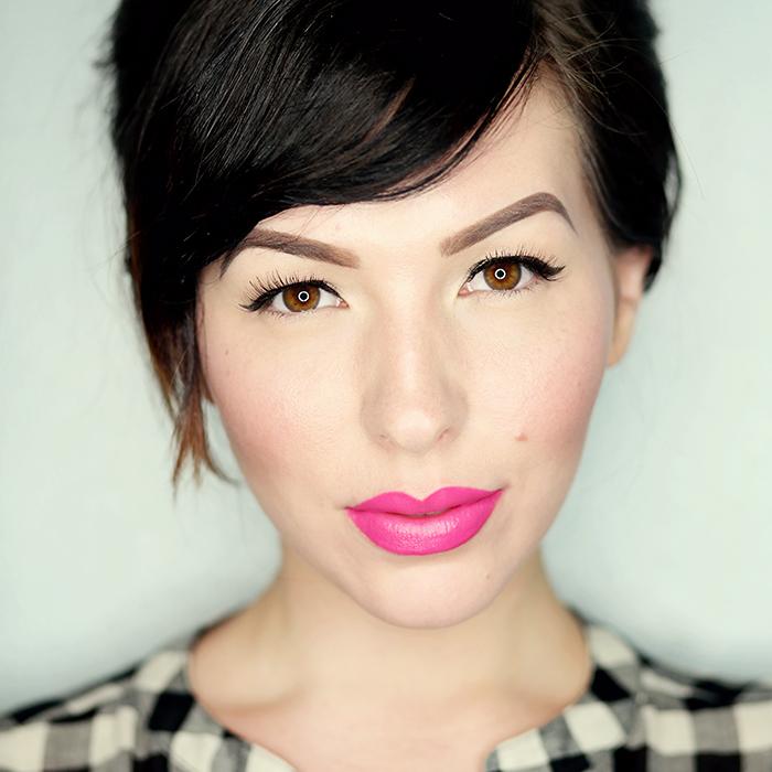 mac cosmetics pink pigeon lipstick
