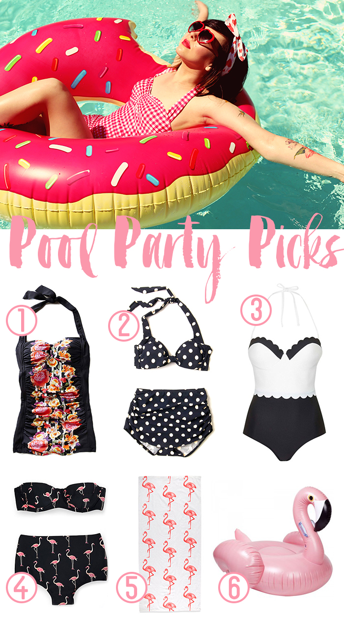 pool party shopping guides