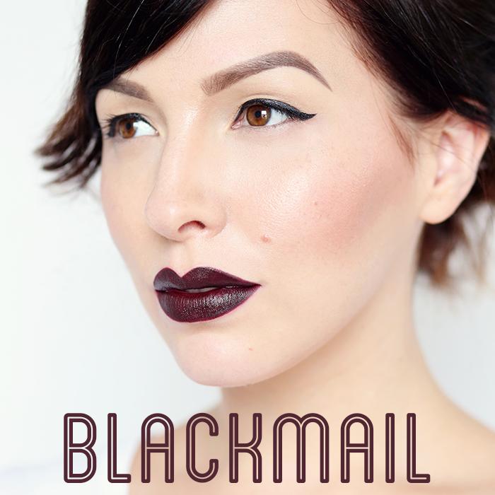 urban decay matte lipstick blackmail