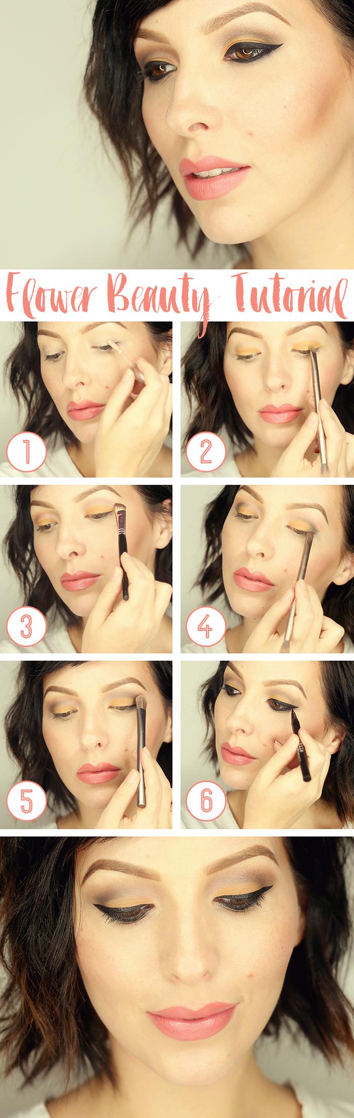 Flower beauty eyeshadow quad tutorial keiko lynn flower beauty makeup tutorial izmirmasajfo