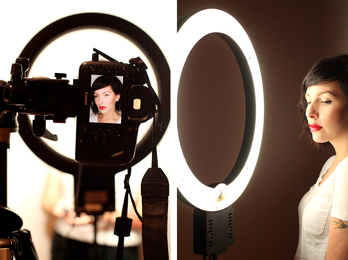makeup photography lighting ring light 5