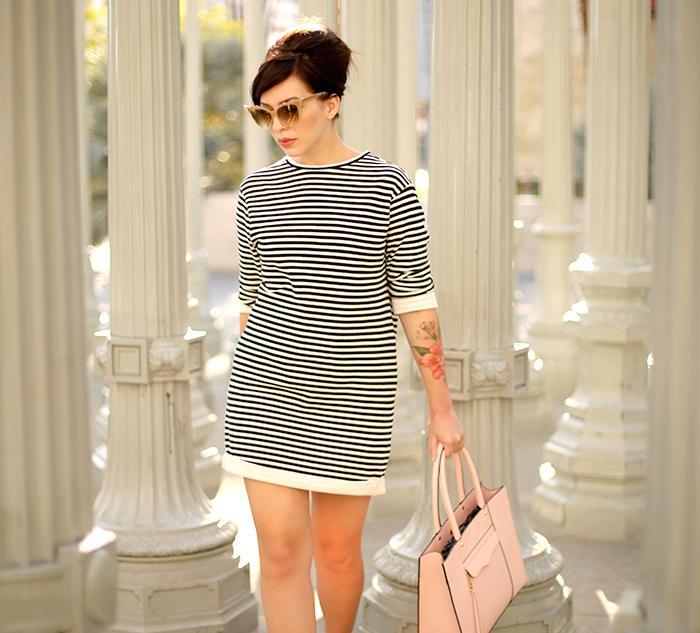 90bf4533f25c Mod Striped Dress