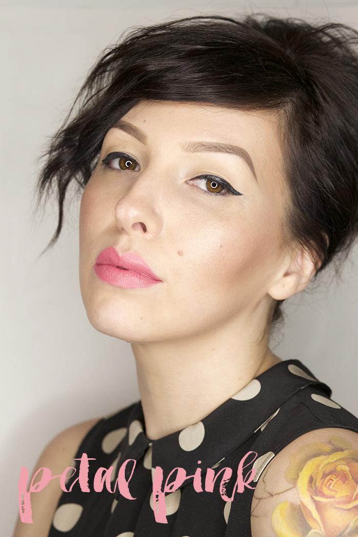 pixi beauty petal pink mattelustre lipstick