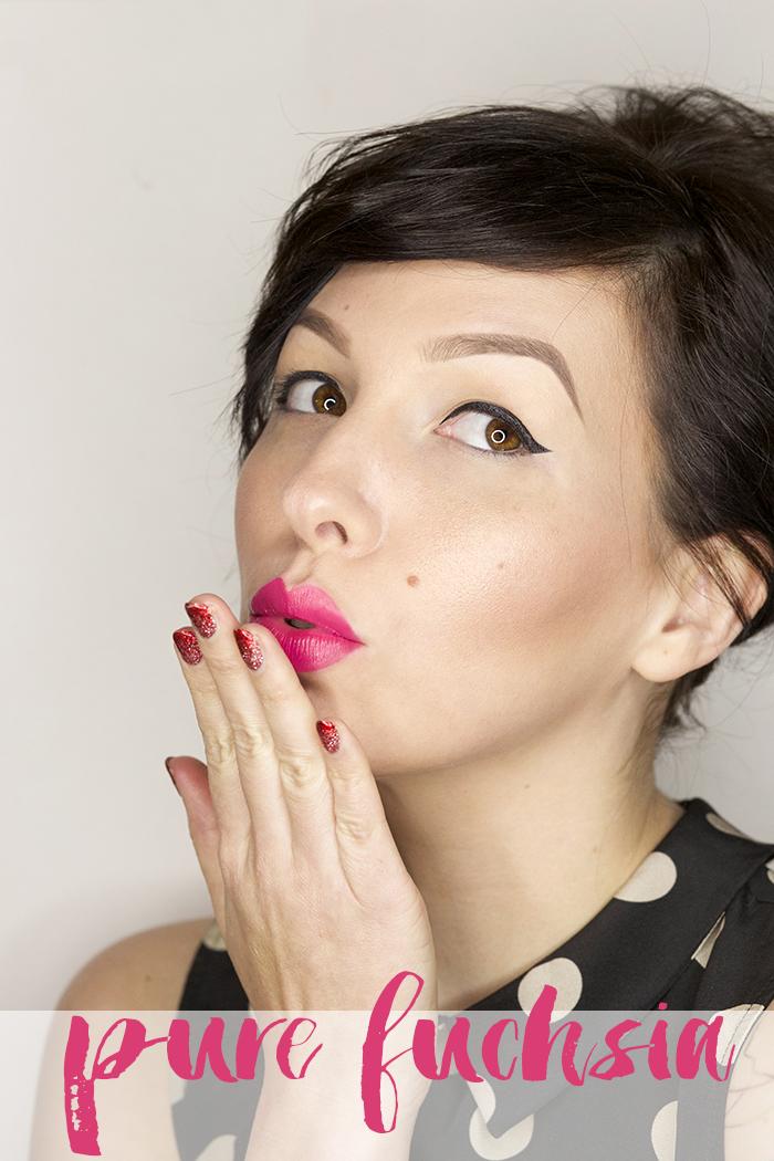 pixi beauty pure fuchsia mattelustre lipstick