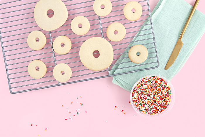 Donut cookie diy