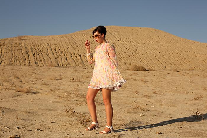 keiko lynn desert road trip vintage 60s trapeze dress 2