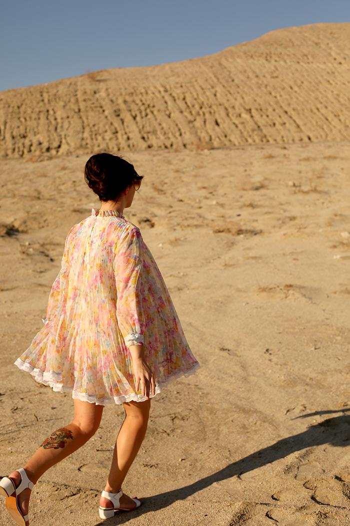 keiko lynn desert road trip vintage 60s trapeze dress 4