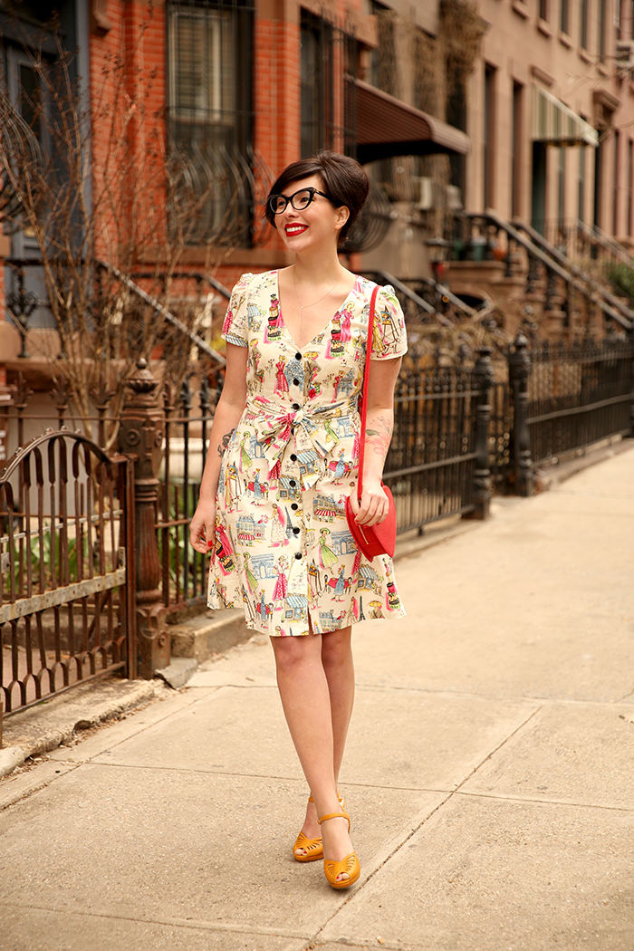 modcloth wedding guest dress keiko lynn 1