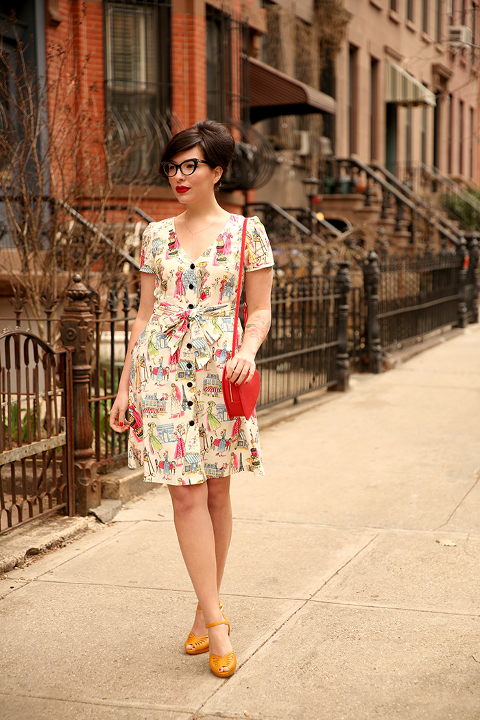 modcloth wedding guest dress keiko lynn 2