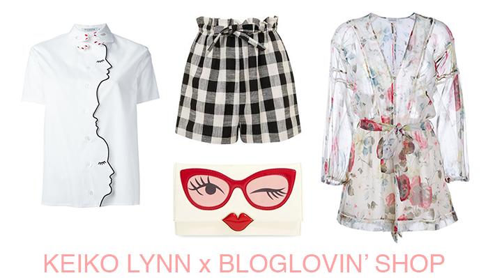 keiko lynn x bloglovin shop