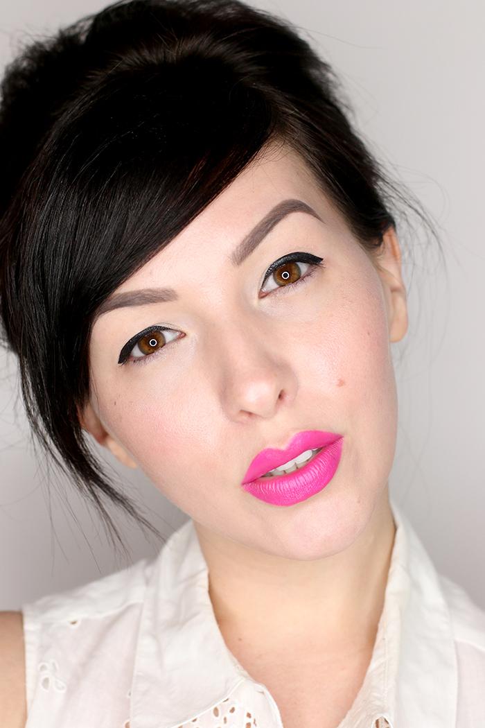 kat von d studded kiss lipstick sexer swatch pink lipstick