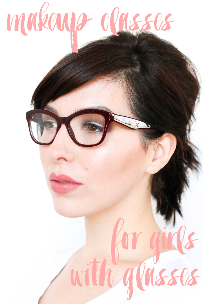 makeup tutorial for with glasses