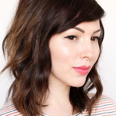 textured waves hair tutorial