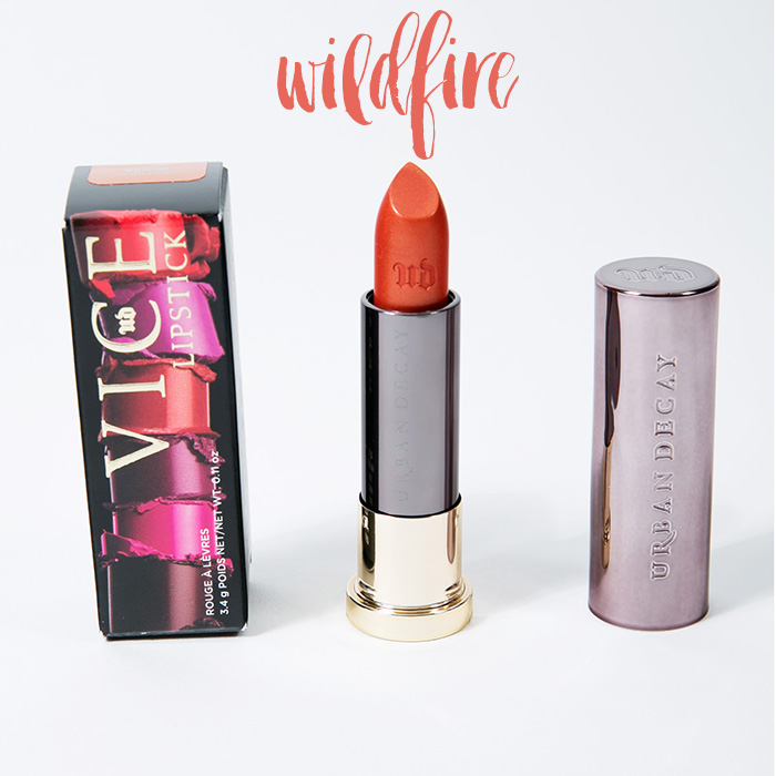 urban decay vice lipstick wildfire