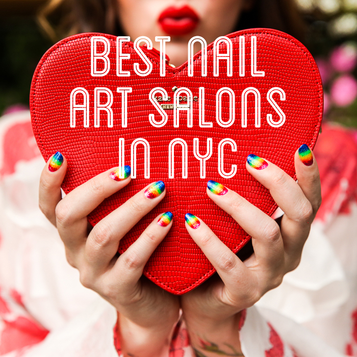 Best nail art salons in nyc top four salons best nail art salons in nyc prinsesfo Images