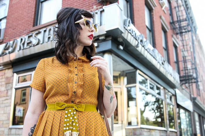 bff88bfd64ea keiko lynn dita hurricane sunglasses mustard forever 21 dress keiko lynn ...