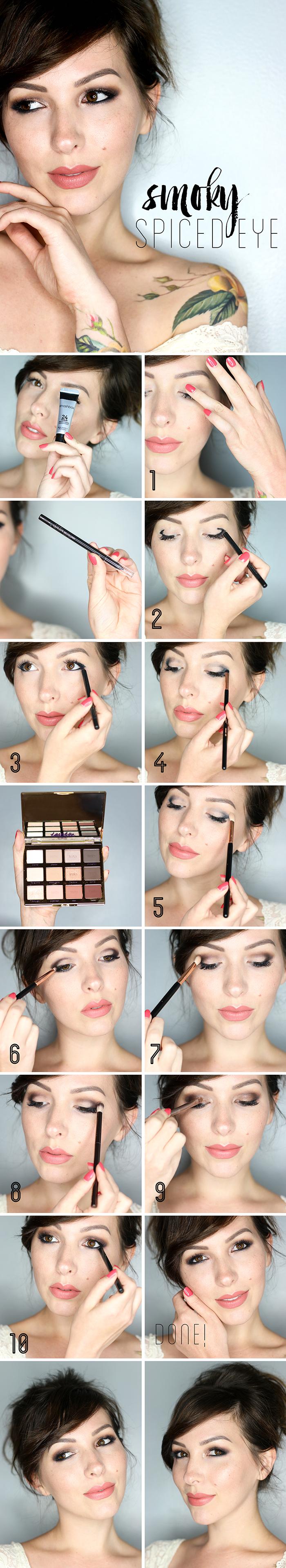 smoky eye tutorial by Keiko Lynn