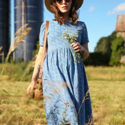 059958d12b4c vintage feedsack dress