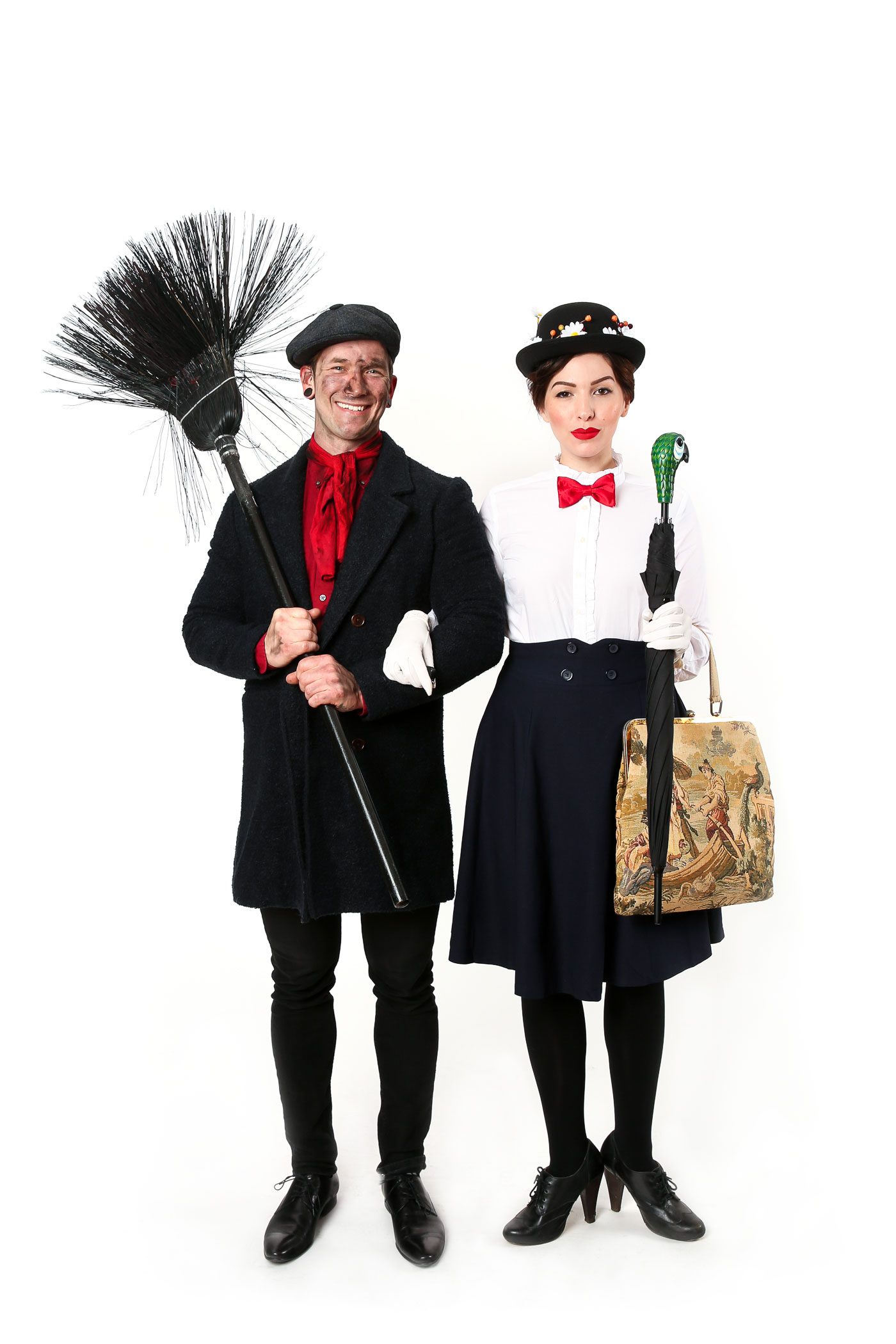 mary poppins costume, bert costume: halloween couples costume idea
