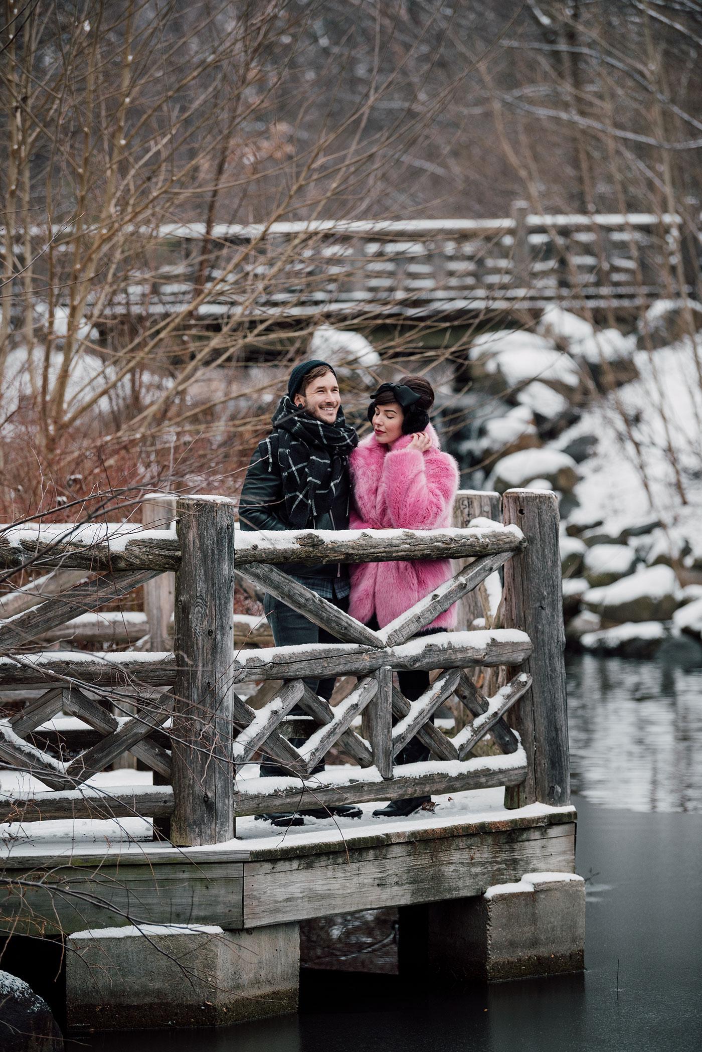 snow day / bobby and keiko