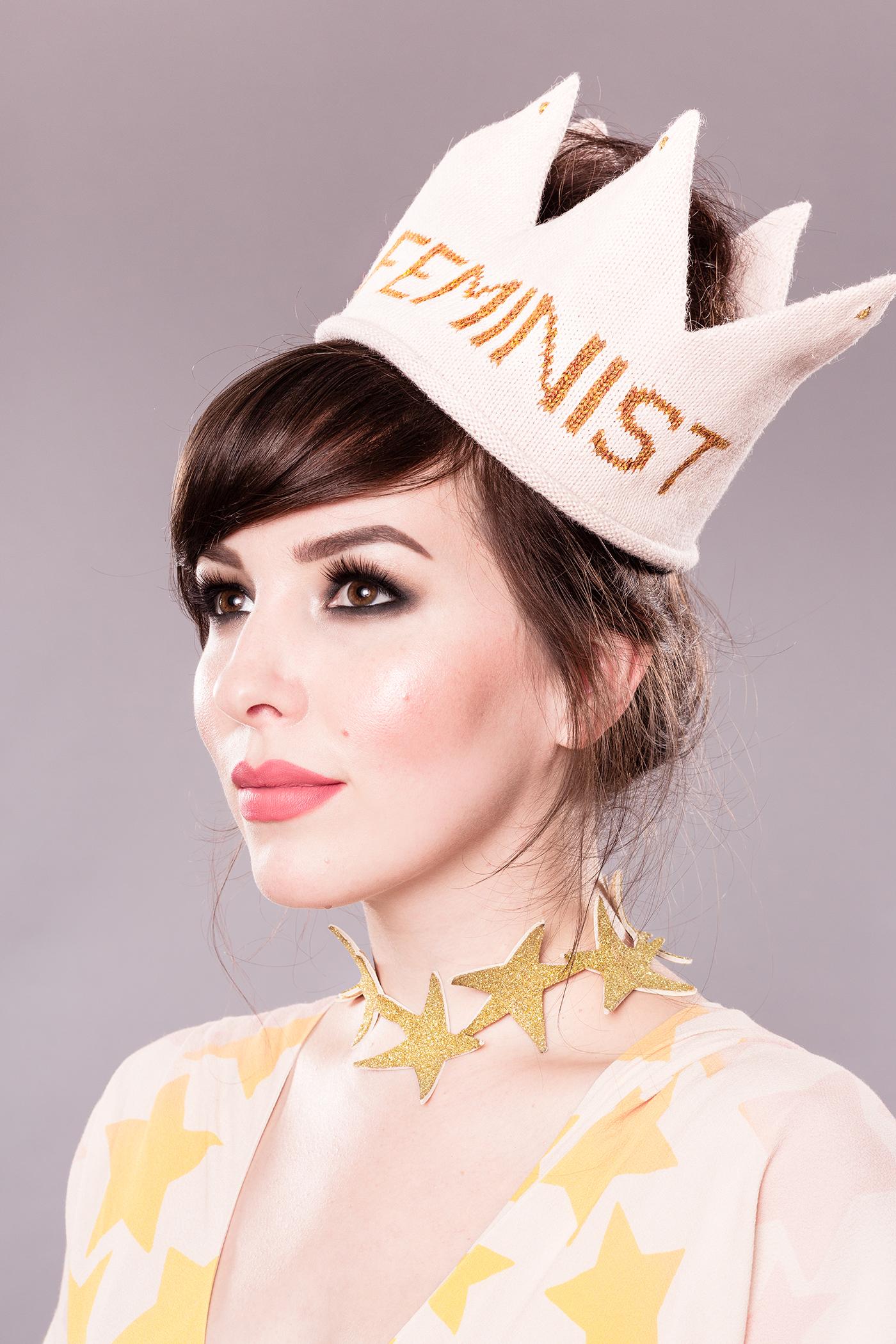 Oeuf Feminist Crown, Keiko Lynn