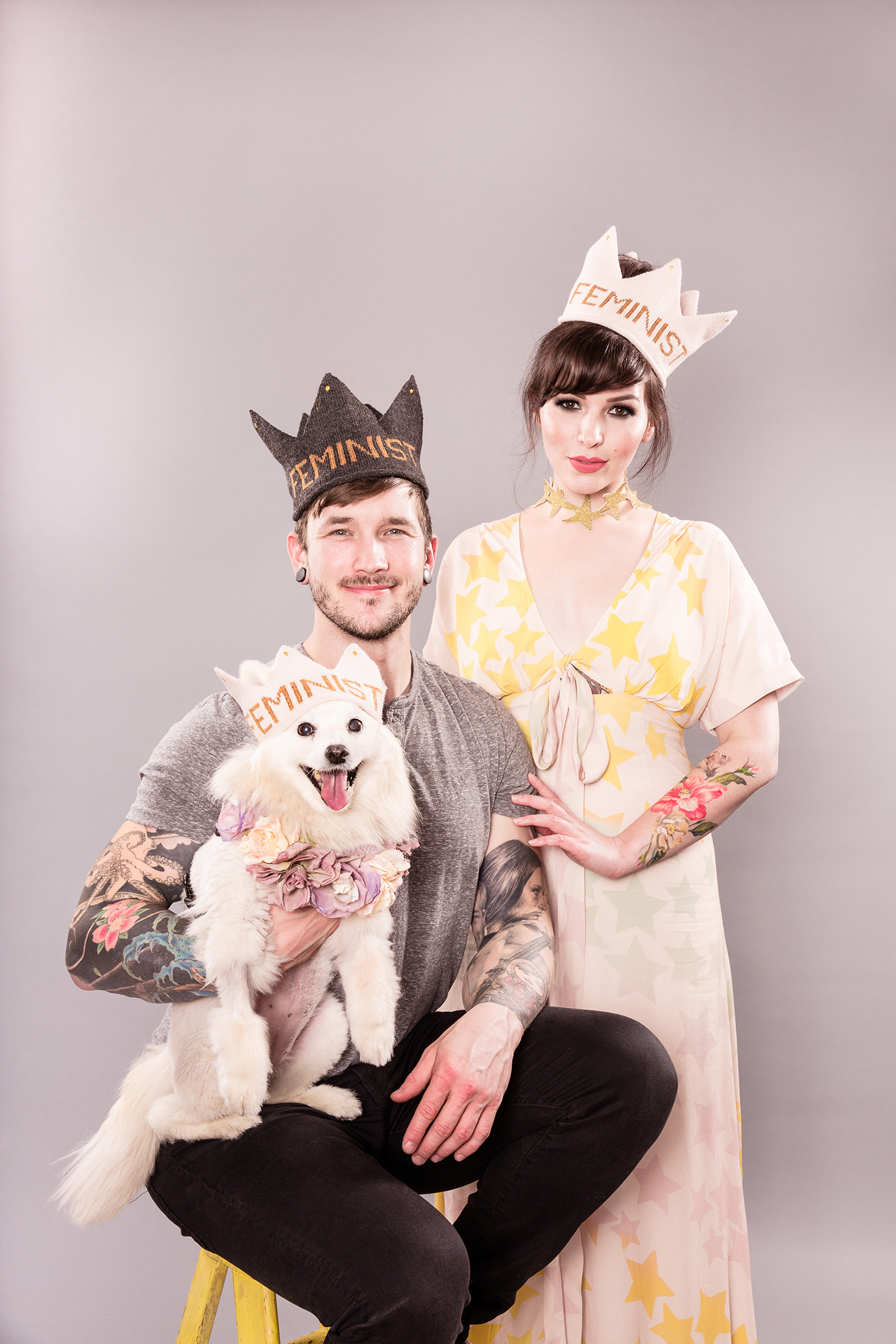 Oeuf Feminist Crown, Keiko Lynn, Bobby Hicks and Miku