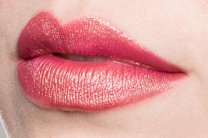 keiko lynn aromi rose gold liquid lipstick swatch