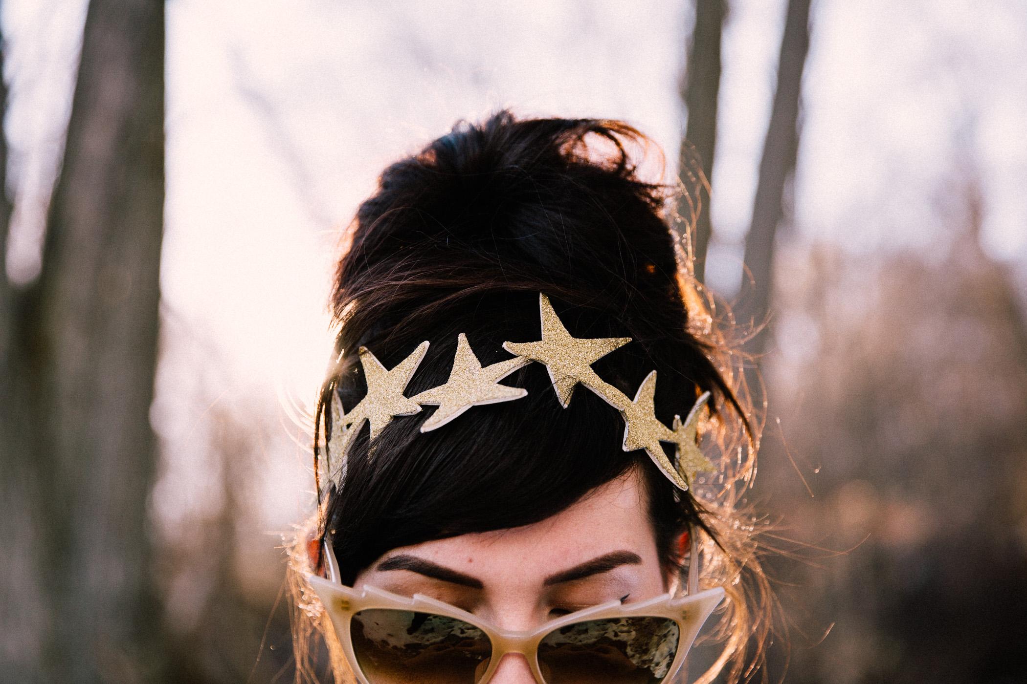 gold star crown