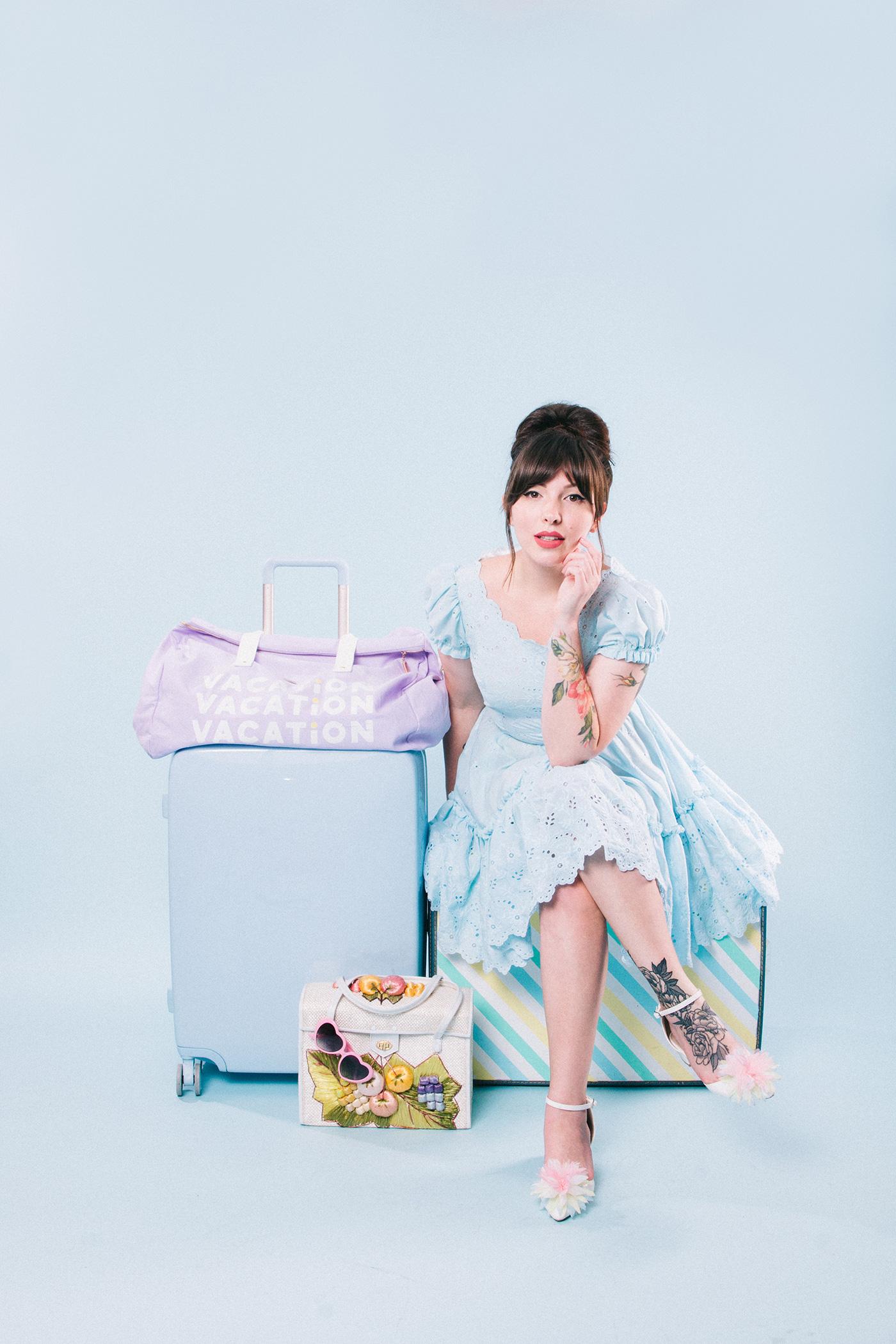 raden suitcase bando duffle