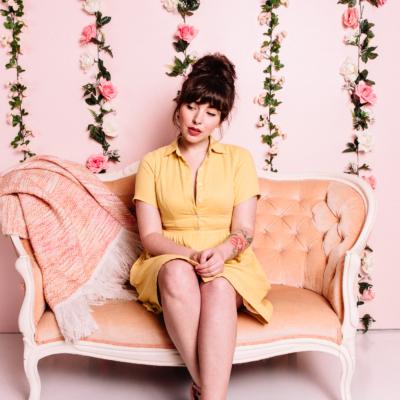 margu dress buttercup yellow