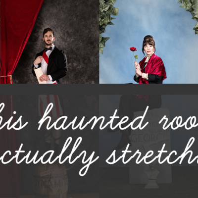 haunted mansion stretching portraits preview