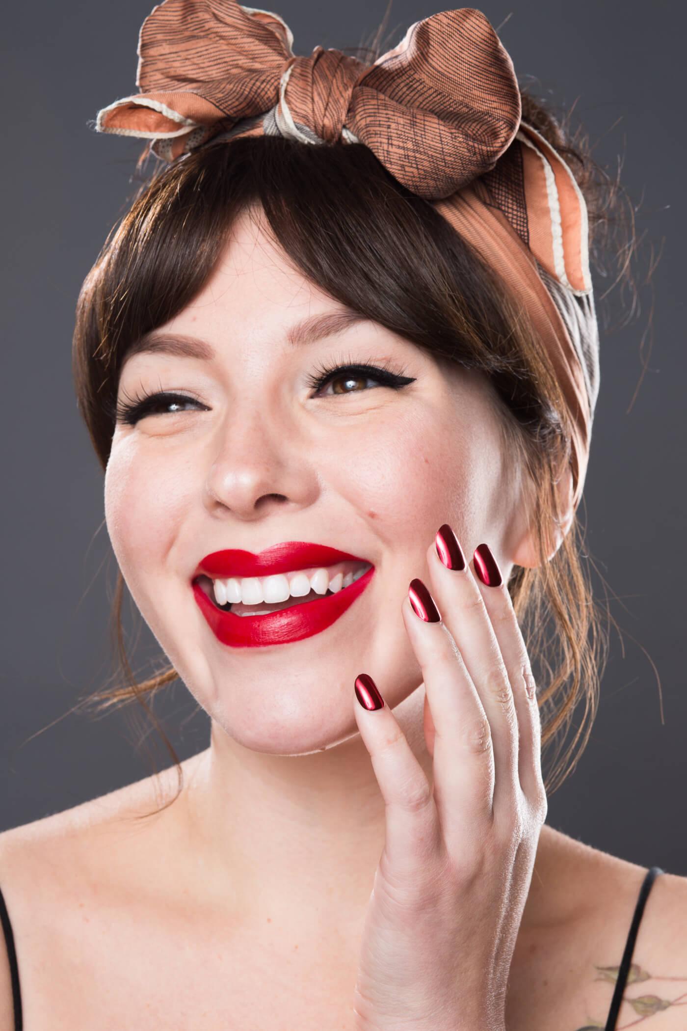 100% pure lipstick swatches Cocoa Butter Matte Lipstick in Nopal