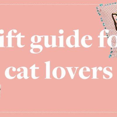 Holiday Gift Guide For Cat Lovers