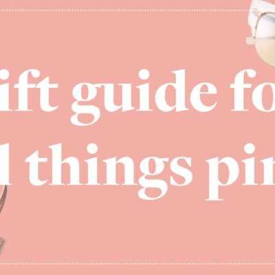 Gift Guide For All Things Pink - Millennial Pink Gift Ideas - Keiko Lynn