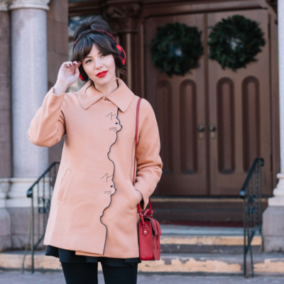miss patina cat coat