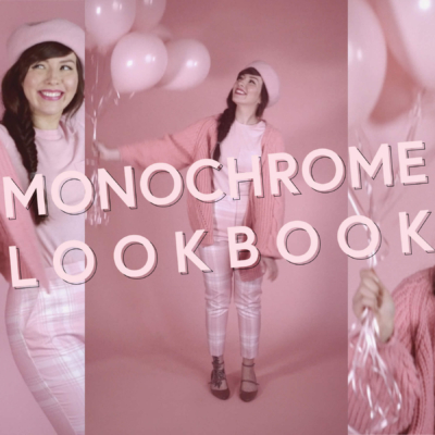 monochrome outfits for spring